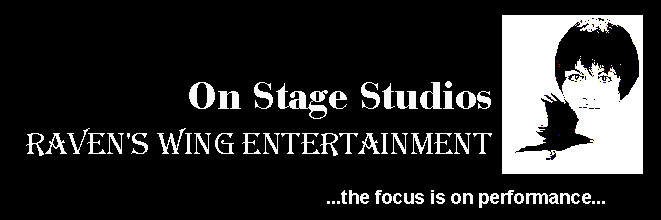 On Stage Dance Studios and Raven's Wing Entertainment Companies for professional entertainers for Dance Shows, Convention Shows and Special Events